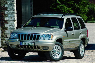 fiche technique jeep grand cherokee 2 5 td limited auto. Black Bedroom Furniture Sets. Home Design Ideas